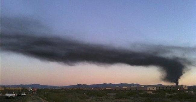 Huge transformer blaze burning in north Phoenix