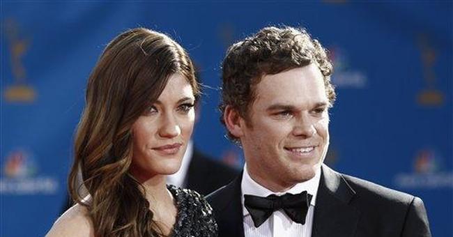 'Dexter' co-stars Hall and Carpenter divorce final
