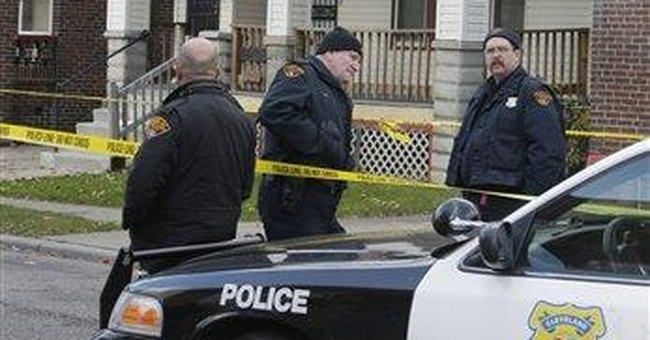 Ohio house comes down where remains of 11 found