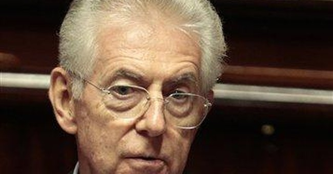 Monti: Italy risked not paying salaries