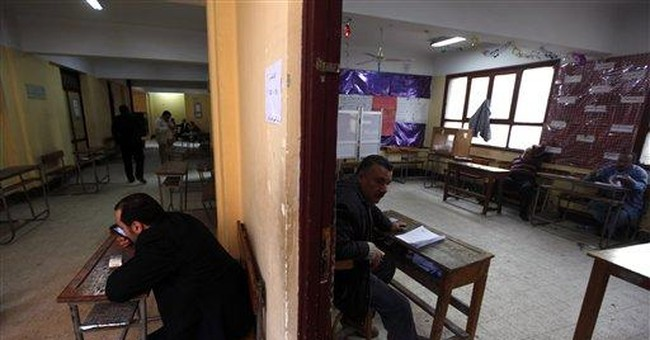 Hard-line Islamist gains surprise in Egypt vote