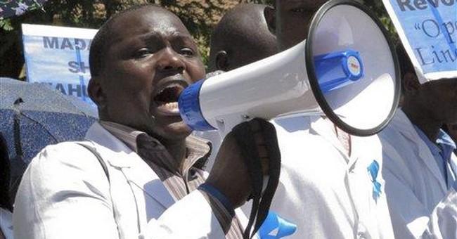 Kenyan doctors strike over pay, hospital equipment