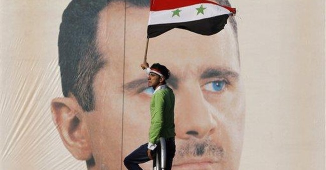 Syria's president denies ordering crackdown
