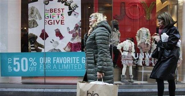 Shoppers say 'ho-hum' not 'ho-ho-ho' to sales