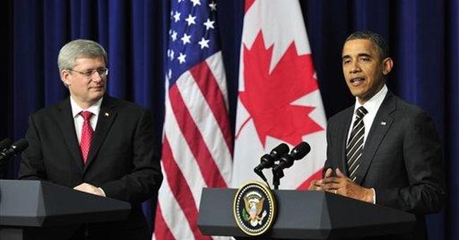 Obama, Harper show no budge on pipeline dispute
