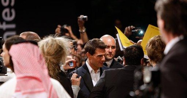 Tom Cruise's mission in Dubai stunts: Not falling