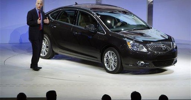 Buick adds new smallest car, Verano