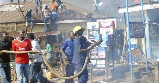 Official: Explosion in central Nigeria kills 7