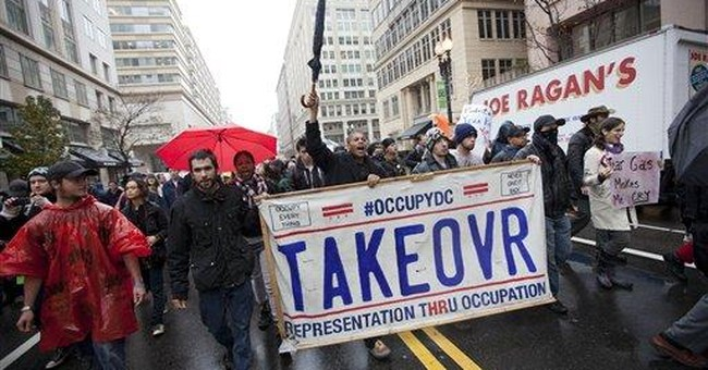 Protesters arrested in DC after K Street shutdown