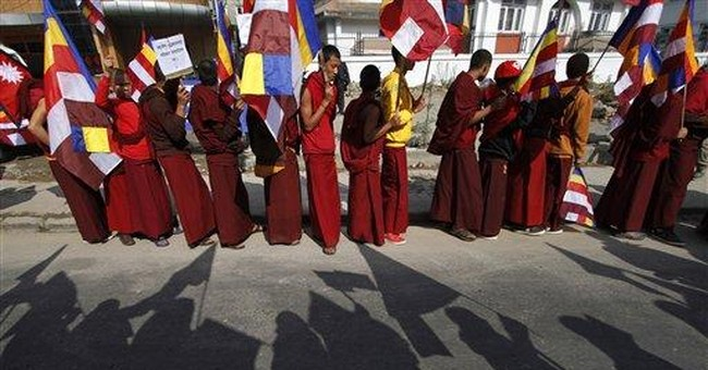 Nepal Buddhists protest against Maoist chief