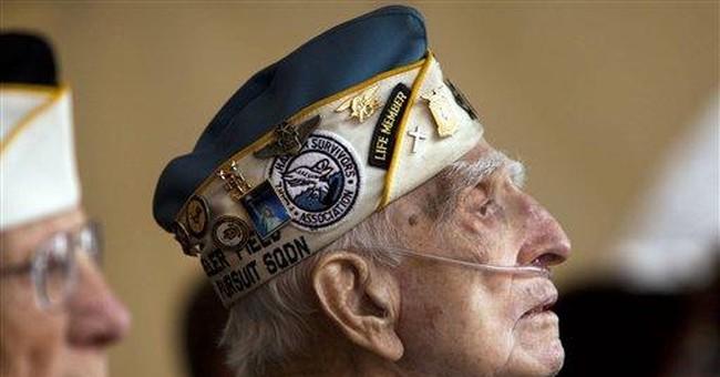 Snafu mars Pearl Harbor 70th anniversary ceremony