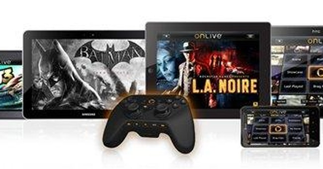 Game streaming service OnLive coming to tablets