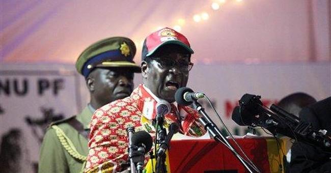 Zimbabwe's president says he will not retire