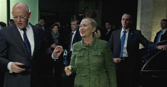 Clinton warns tech business not to help tyrants