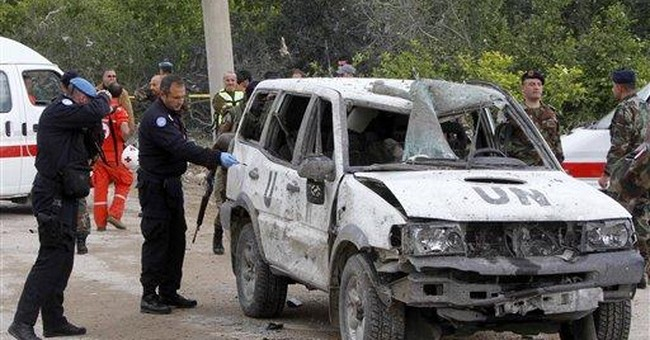 5 French peacekeepers wounded in Lebanon bombing