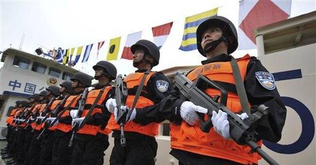 4-nation Mekong security patrols begin