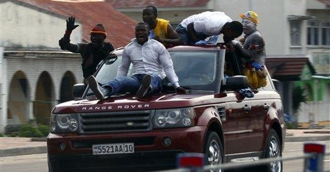 Congo police sweep capital day after poll results