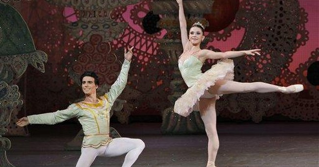 Popcorn and snowflakes: 'Nutcracker' at the movies