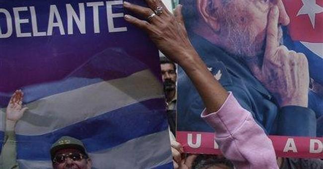 Cuban exiles put on fireworks show, irking Havana
