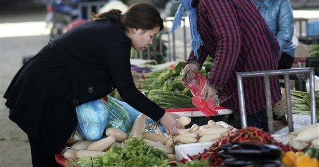 China inflation drops to 4.2 pct in November