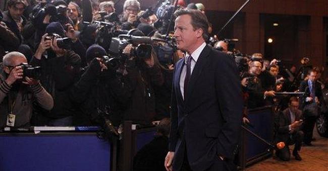 Britain chooses isolation over new EU treaty