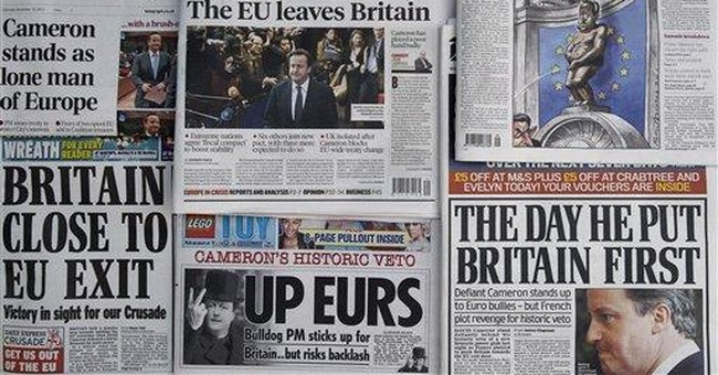 UK Treasury chief defends Cameron's EU treaty veto
