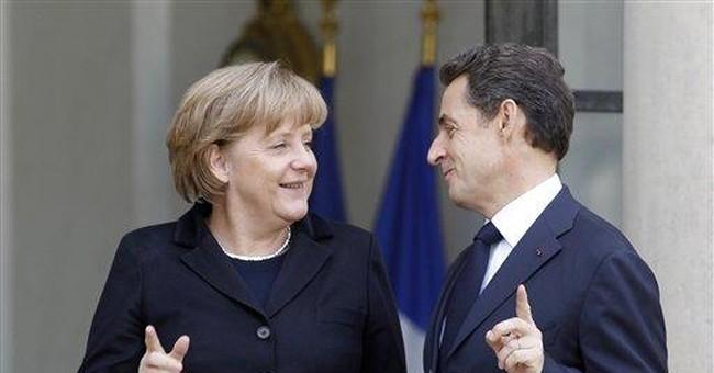 'Merkozy' factor: Merkel, Sarkozy bond amid crisis