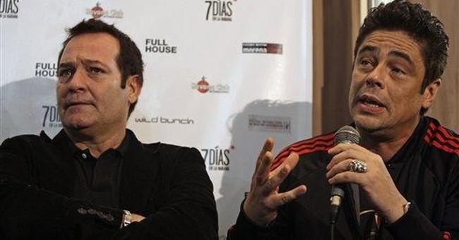 Benicio del Toro's directorial debut shows in Cuba