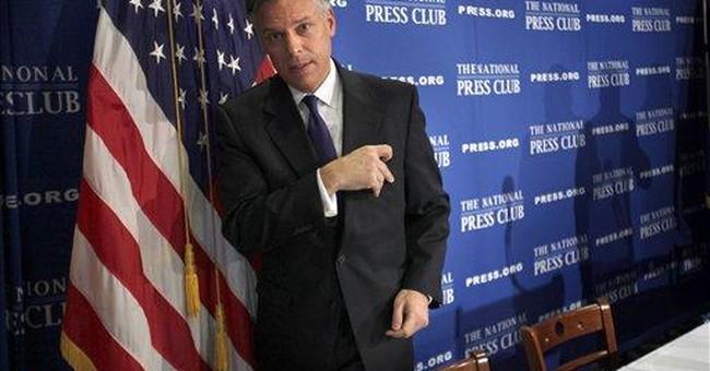 Free media helping to define presidential race