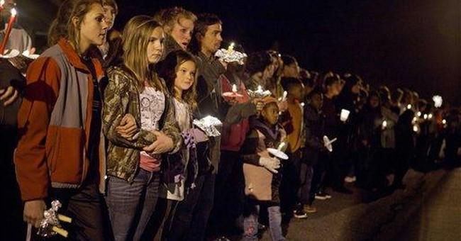Hundreds gather to mourn slain Georgia girl
