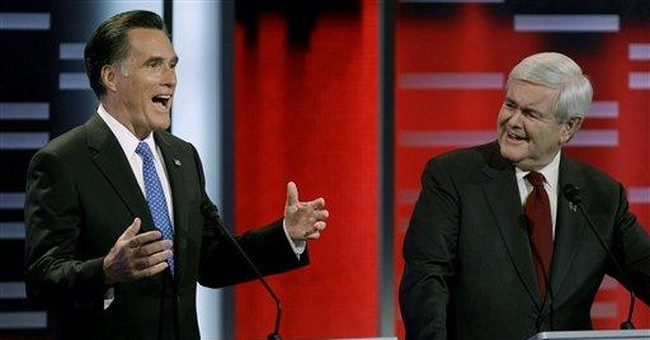 Gingrich assailed by rivals, fires back at Romney
