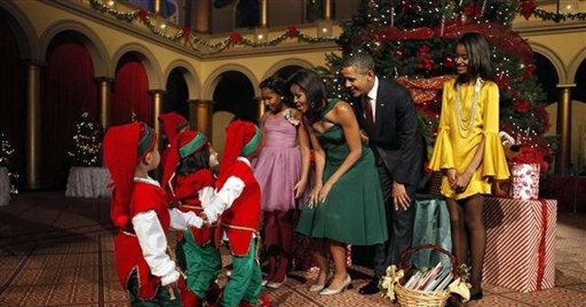 Obama, family attend 'Christmas in Washington'