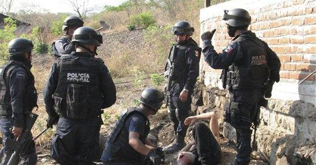 Violence tops results of Mexico's 5-yr drug war
