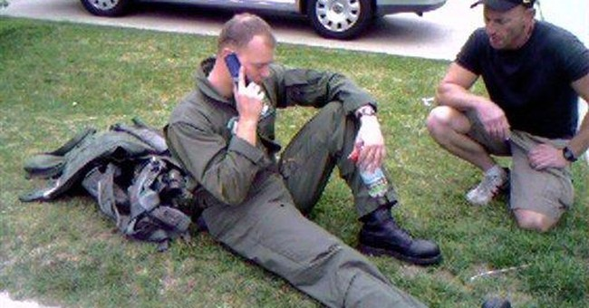 Man says military jet crash destroyed his life