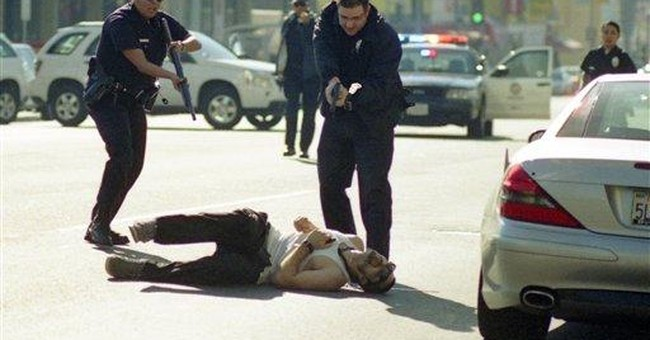 Record exec dies after Hollywood street rampage