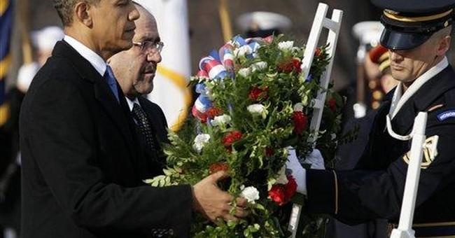 War nearly over, Obama says Iraq won't stand alone
