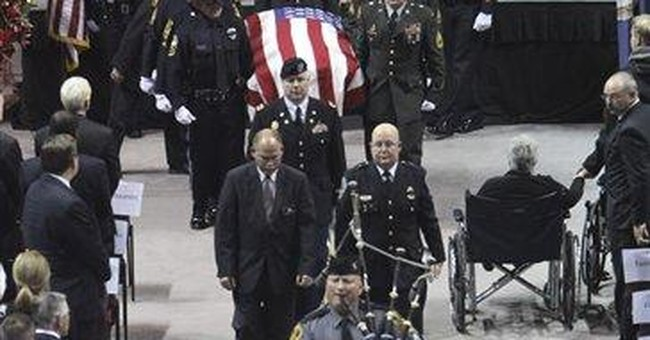 Funeral: Hundreds mourn slain Va. Tech officer