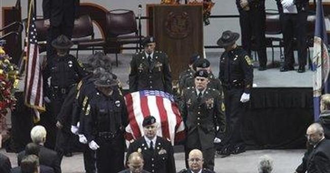 Funeral: Hundreds mourn slain Va. Tech officer