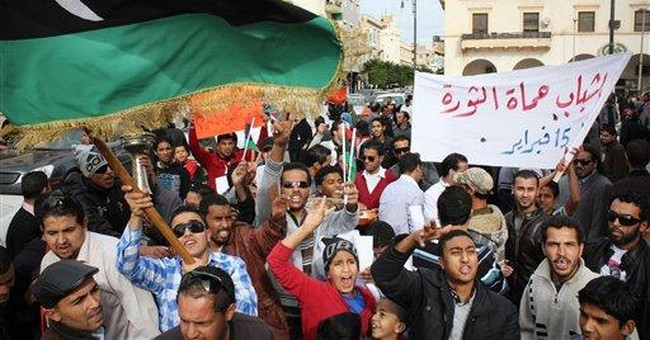 Libyan leader vows army, police force in 100 days