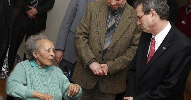 Belgian nurse who saved GIs in WWII honored