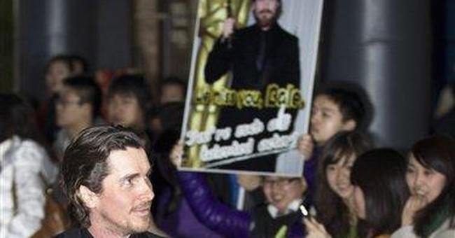 Christian Bale in China to promote Nanjing movie