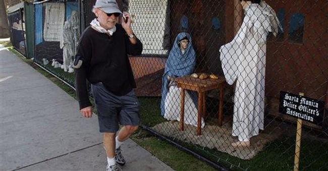 Atheist messages displace CA park nativity scenes