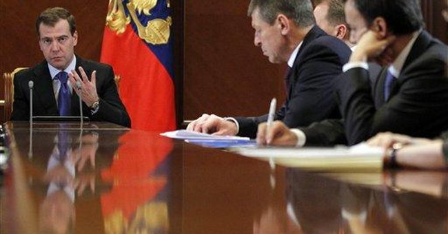 Medvedev: Parliament will meet next week