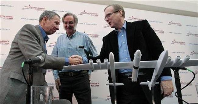 New giant plane to launch people, cargo into orbit