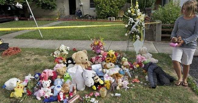 Ore. man pleads not guilty in deaths of wife, kids