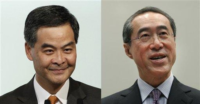HK leadership candidates heat up usually dry race