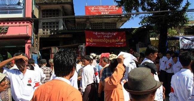 Suu Kyi's party gets OK to register in Myanmar