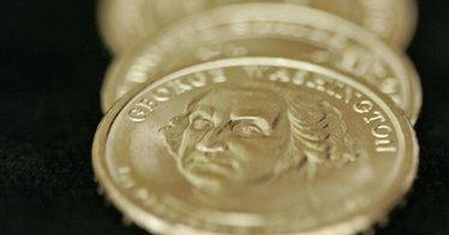 White House cuts production of presidential coins