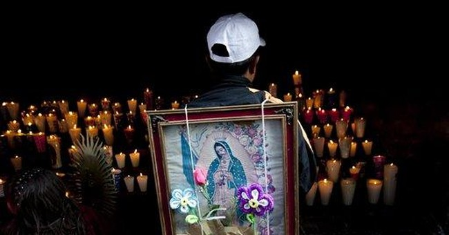 Mexican worshippers underwhelmed by papal visit