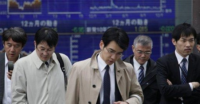 Strong yen batters business confidence in Japan